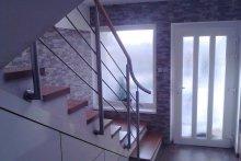 Ukážka zábradlí interiér